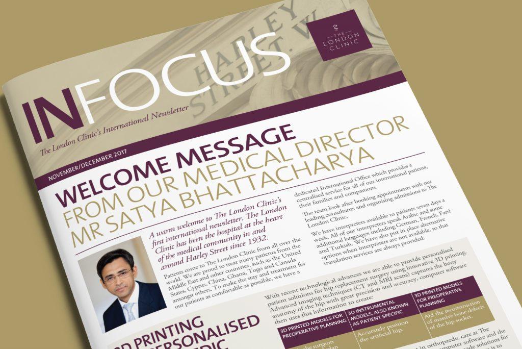 The london clinic International newsletter – Infocus