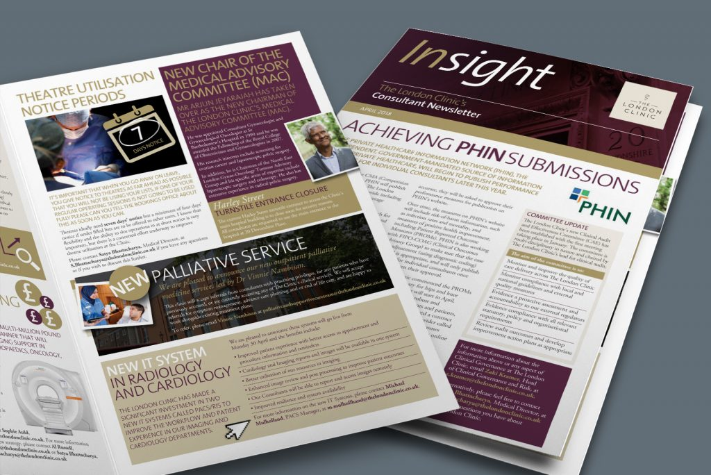 The london clinic consultant newsletter – Insight