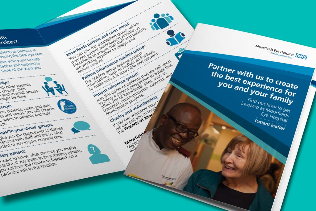 Moorfields Eye Hospital Patient participation strategy leaflet