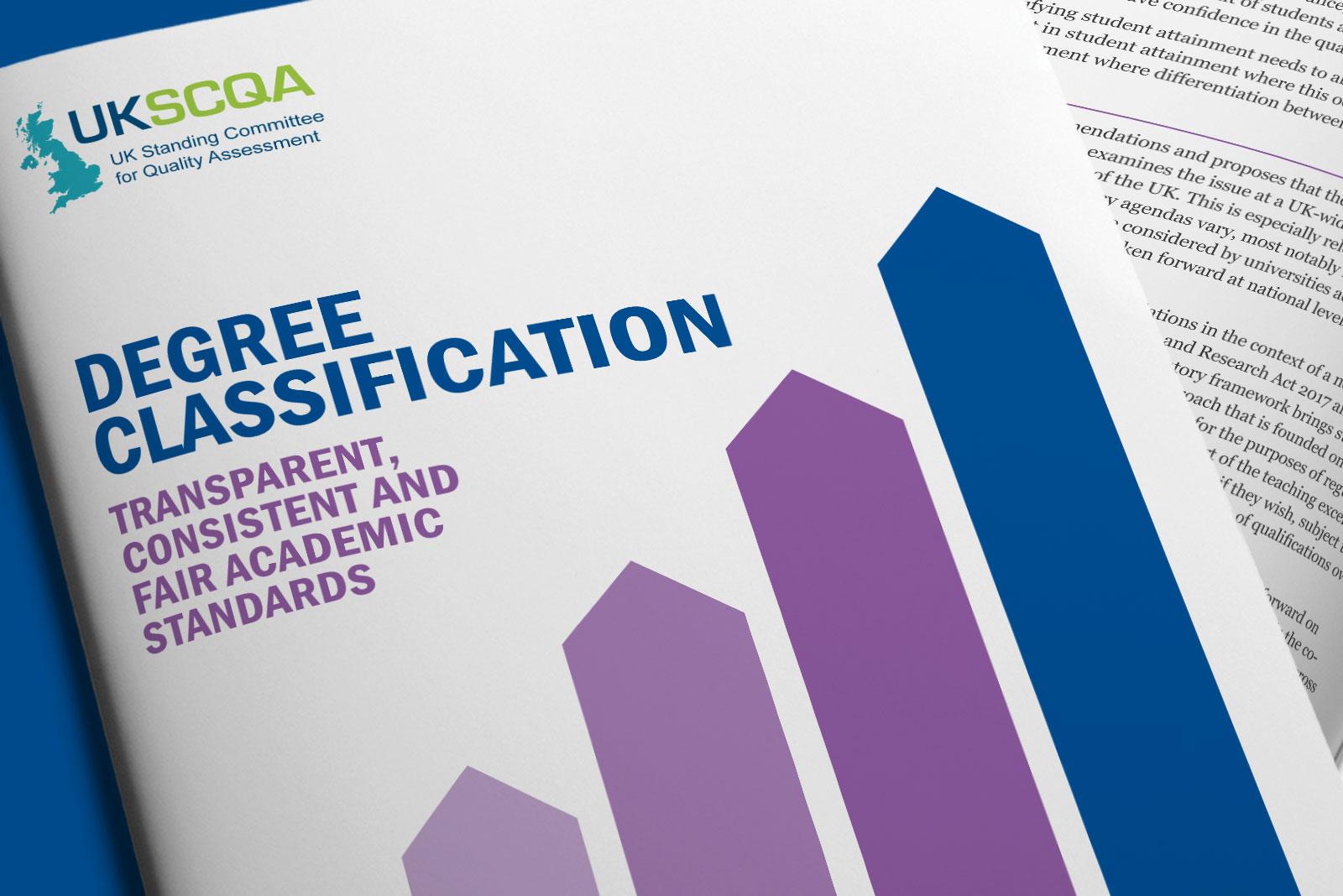 Degree classification report by Universities UK
