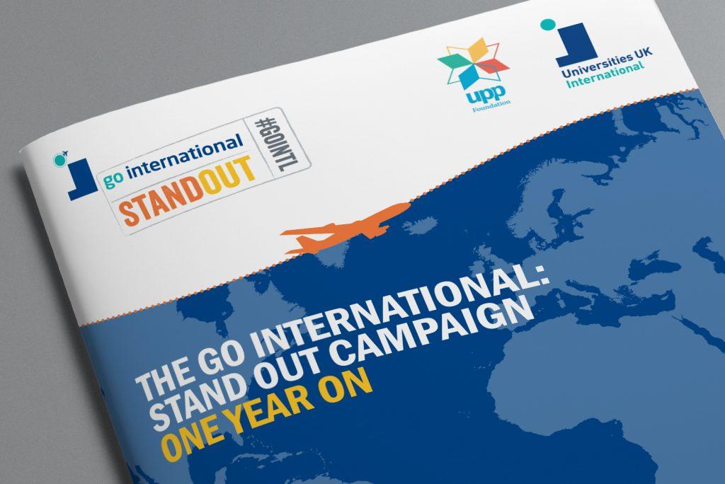 Universities UK International Go International Standout campaign – One year on