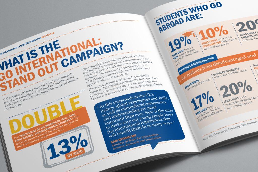 Universities UK International Go International Standout campaign – What is it?