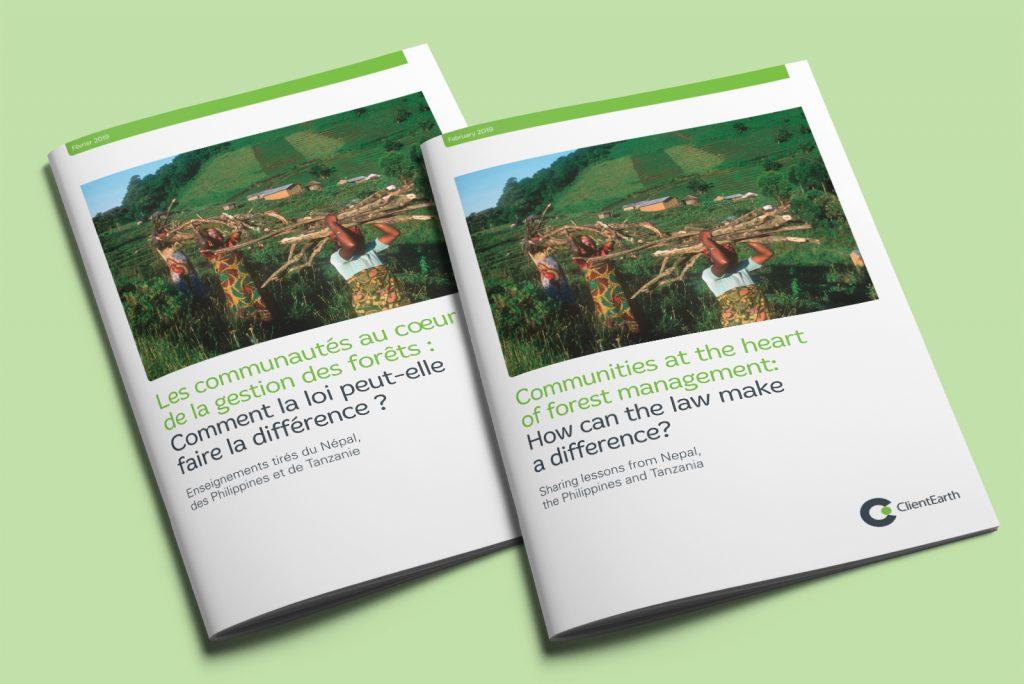 ClientEarth Forest communities