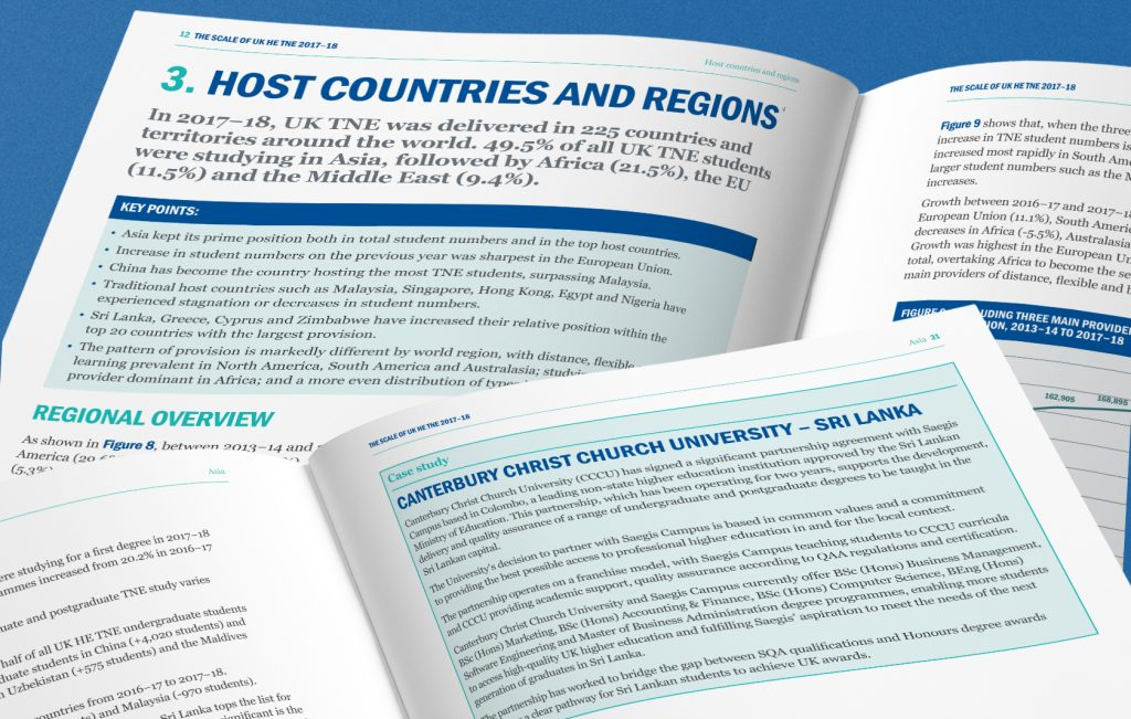 Education case study in higher education report for Universities UK International
