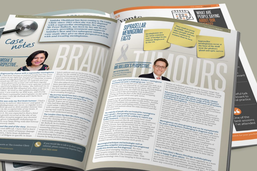 The London Clinician magazine from The London Clinic