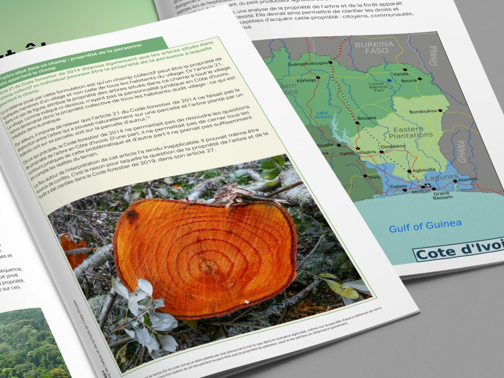 ClientEarth Forestry ownership in the Ivory Coast report
